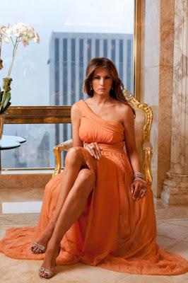 Melania Trump ภรรยา Donal Trump