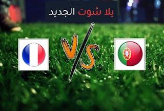 نتيجة مباراة فرنسا والبرتغال اليوم الاحد بتاريخ 11-10-2020 دوري الأمم الأوروبية
