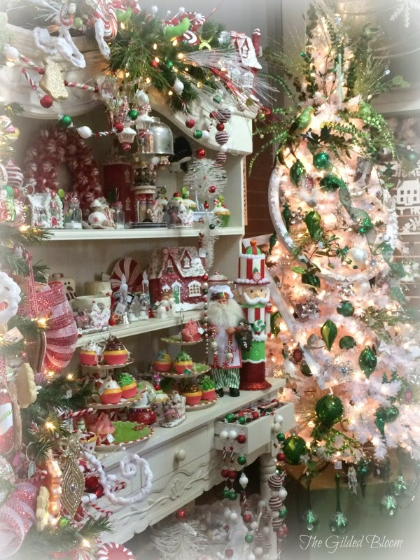 Scenes of the season at morris nursery the gilded bloom for Christmas decoration stores near me