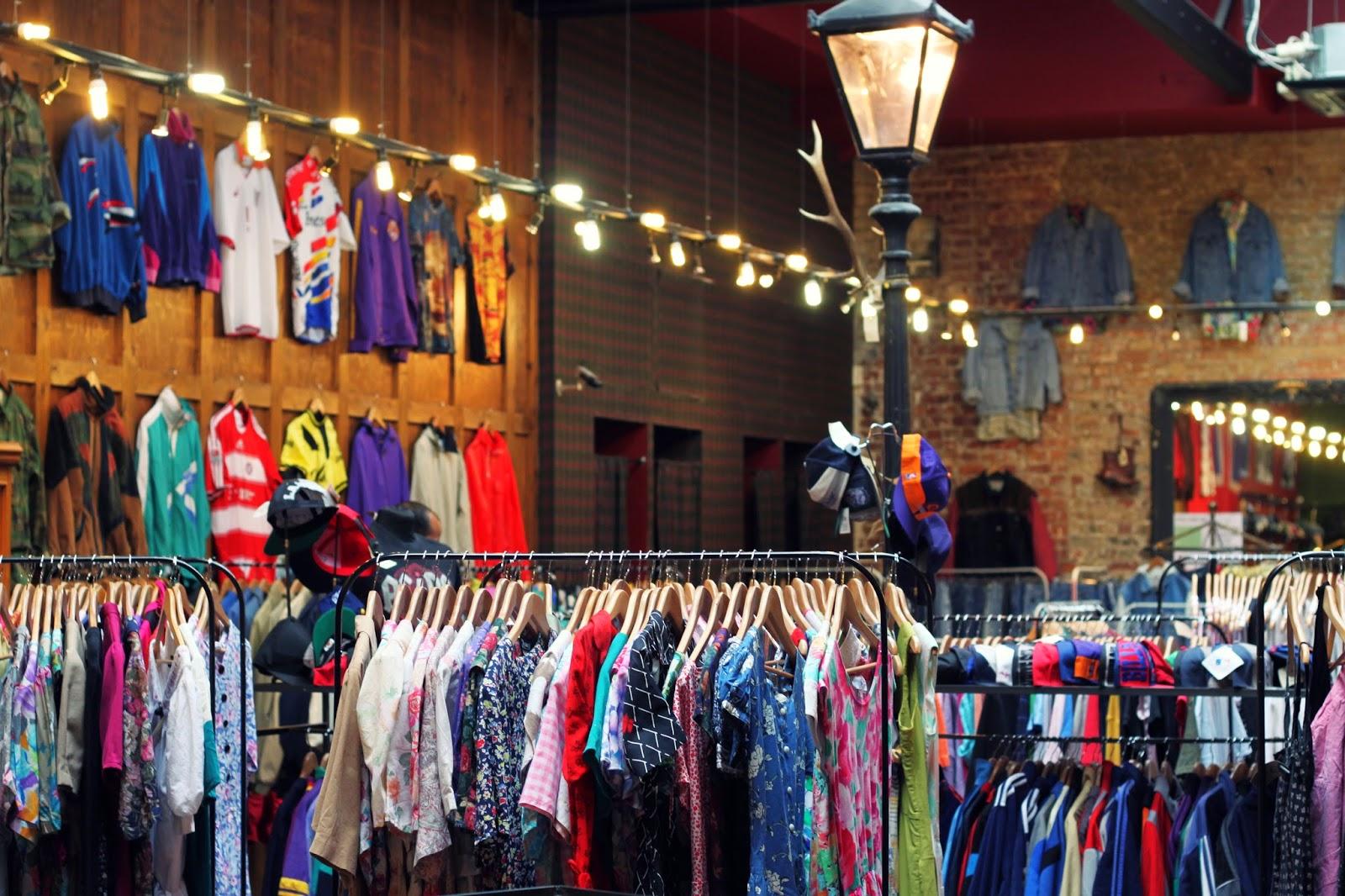 London clothing store