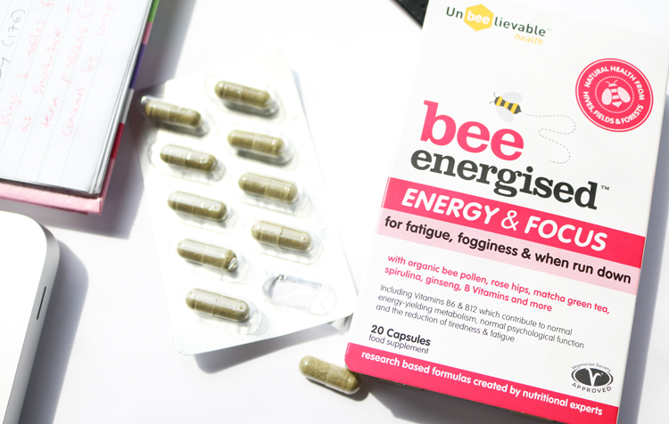 Unbeelievable Health Bee Energised Energy & Focus Supplements review