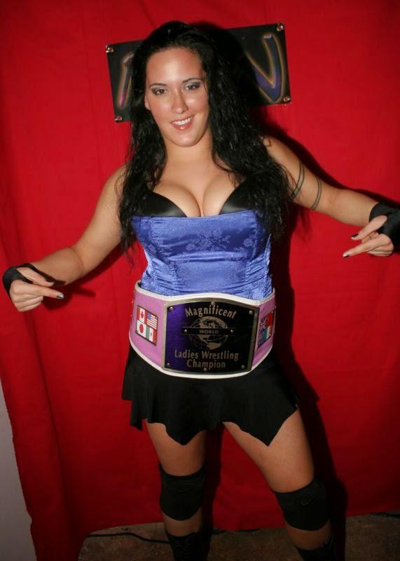 Melanie Cruise - Women's Pro Wrestling