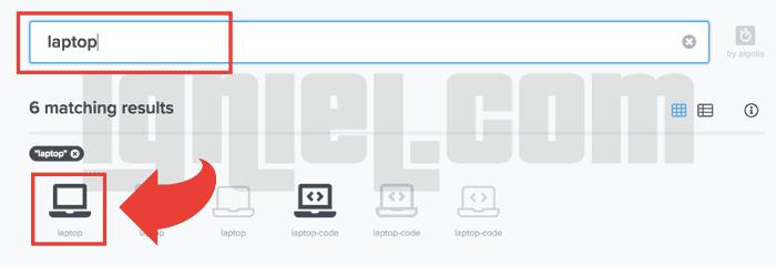 Daftar Lengkap Kode Ikon Font Awesome