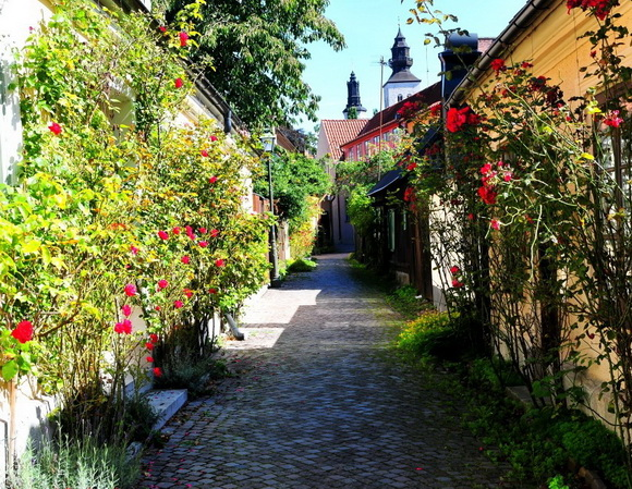 Fiskargränd, Visby, Sweden