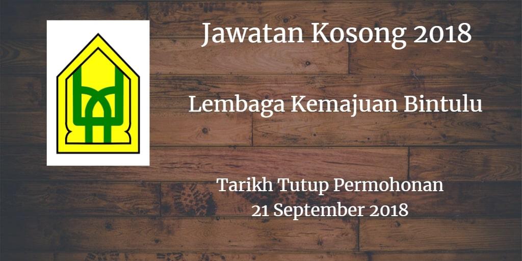 Jawatan Kosong BDA 21 September 2018