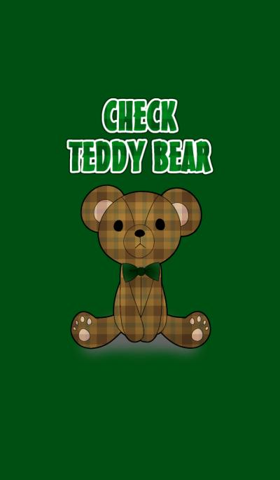 CHECK TEDDY BEAR[O]