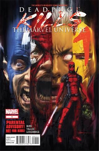 Portada de Deadpool Kills the Marvel Universe