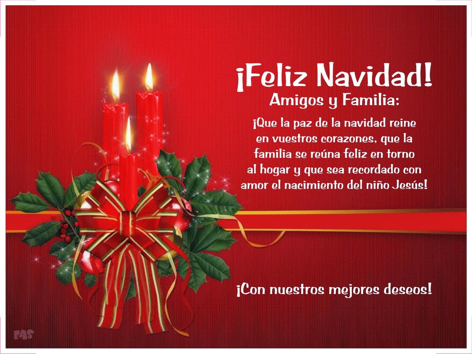 Postales y tarjetas de feliz navidad con imgenes bonitas Imagenes