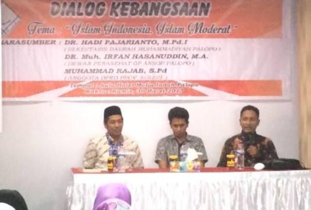 Dialog Kebangsaan di Palopo, Rajab Ajak Perangi Radikalisme