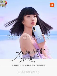 Xiaomi تشارك المزيد من التفاصيل حول هاتف Civi القادم