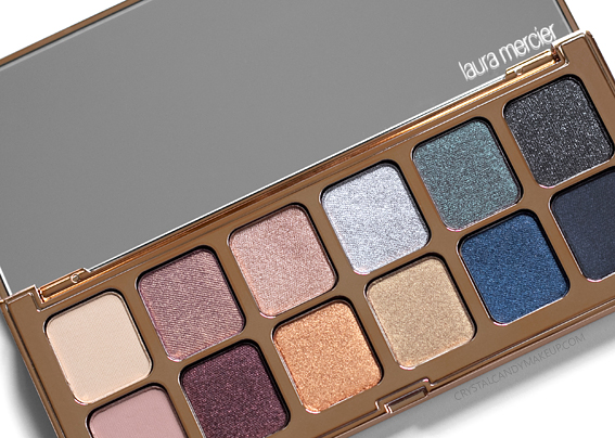 Laura Mercier Nights Out Eyeshadow Palette Photos Holiday 2018