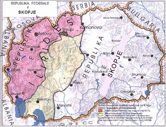 Πολιτικός αναλυτής Σκοπίων: Έρχεται η Ομοσπονδοποίηση ή δημιουργία Καντονιών