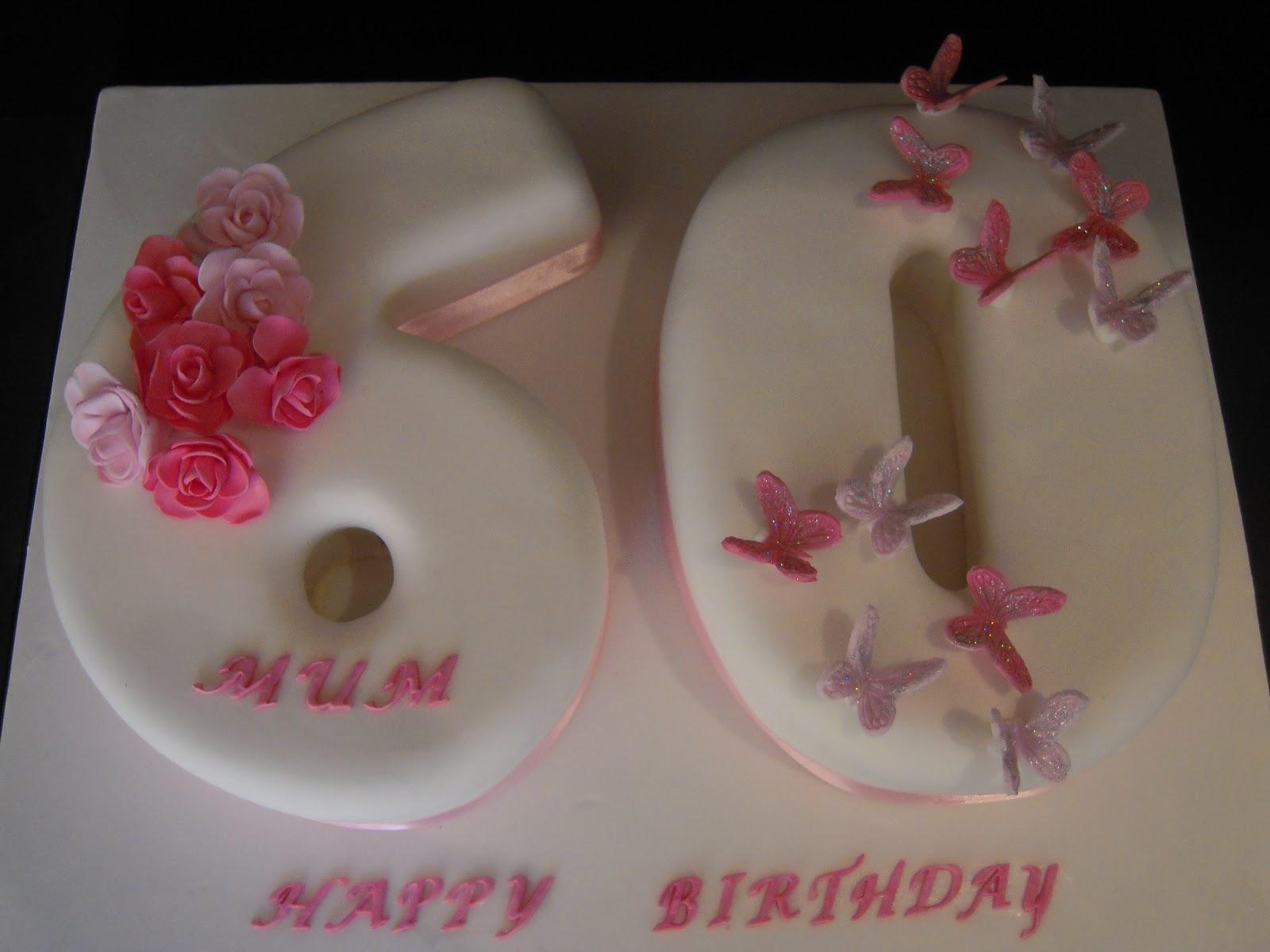 Eileen Atkinson S Celebration Cakes 60th Birthday Cake
