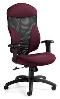 global tye high back chair