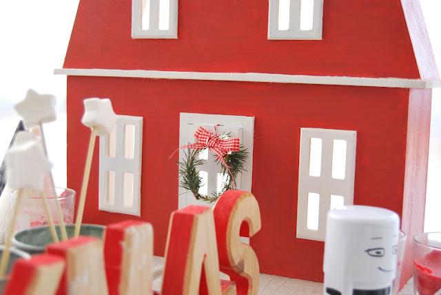 mesa de Navidad para niños