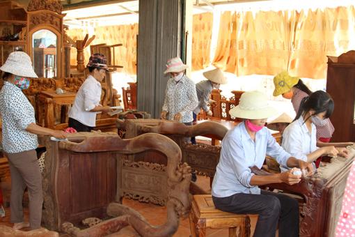 Tìm hiểu đồ gỗ Hải Minh - Hải Hậu - Nam Định
