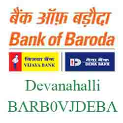 Vijaya Baroda Bank Devanahalli Branch New IFSC, MICR