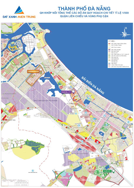 Bản đồ quy hoạch thành phố Đà Nẵng