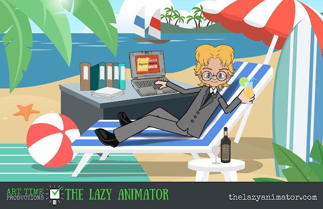 The Lazy Animator Beach Working