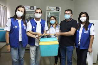 Picuí recebeu as primeiras doses da vacina contra a covid-19