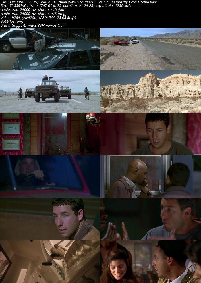 Bulletproof (1996) Dual Audio Hindi 480p BluRay x264 250MB ESubs Movie Download