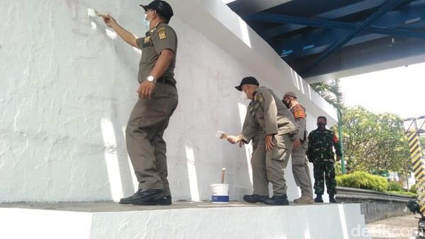Lagi! Mural di Yogyakarta Dihapus Satpol PP