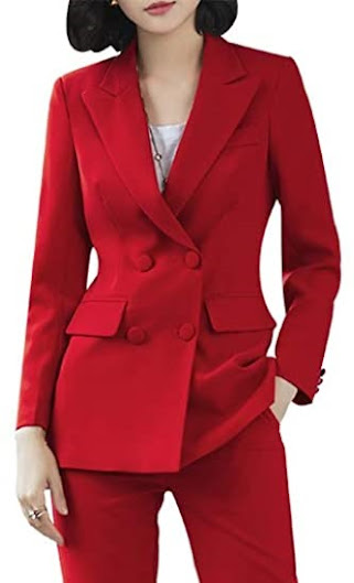Red Blazers For Women