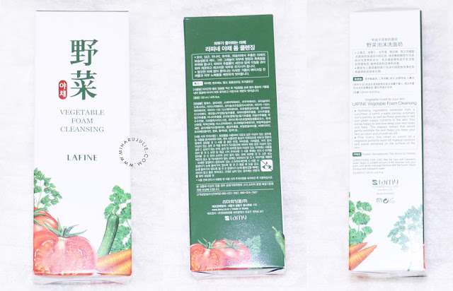 review LAFINE Vegetable Foam Cleansing