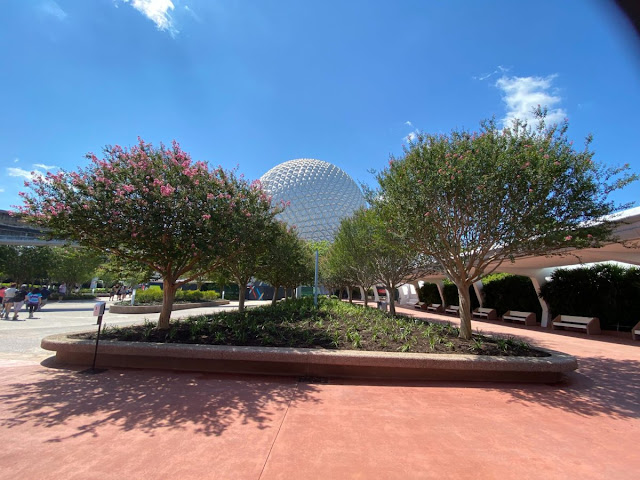 entrance gardens Phased Reopening EPCOT Walt Disney World Resort