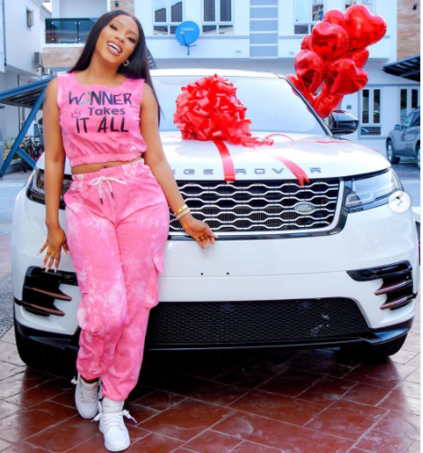 Mercy Eke Celebrates One Year Anniversary Of BBNaija Win