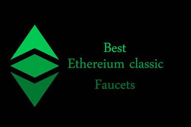 Ethereum classic faucet