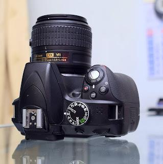 Kamera DSLR Nikon D3300 Lens Kit VR2 Malang