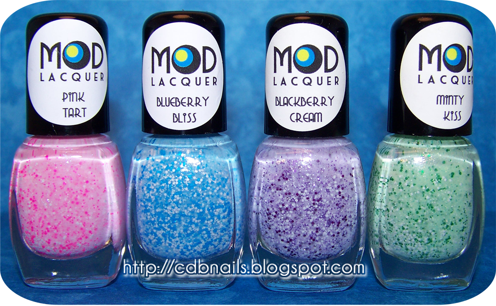 Mod Lacquer Powdered Confection Collection Cdbnails