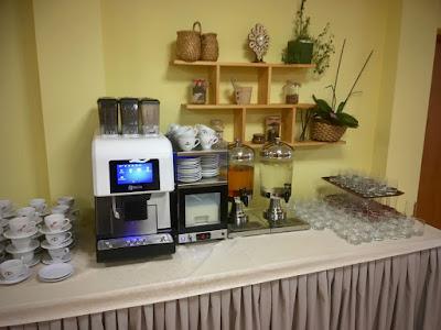 Hotel Pod Wulkanem, Kluszkowce, śniadanie, ekspres do kawy
