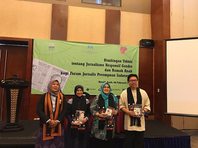 KPPA RI Gelar Bimbingan Teknis Jurnalisme Responsif Gender di Aceh