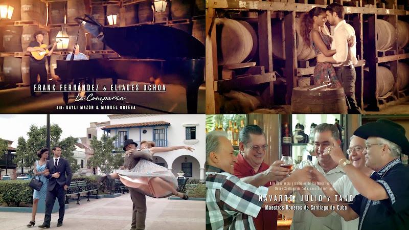 Frank Fernández & Eliades Ochoa - ¨La Comparsa¨ - Videoclip - Dirección: Dayli Mazón - Manuel Ortega. Portal Del Vídeo Clip Cubano
