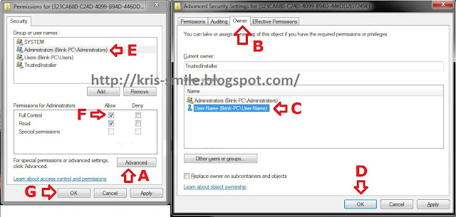 CARA GANTI  NAMA Libraries default 3