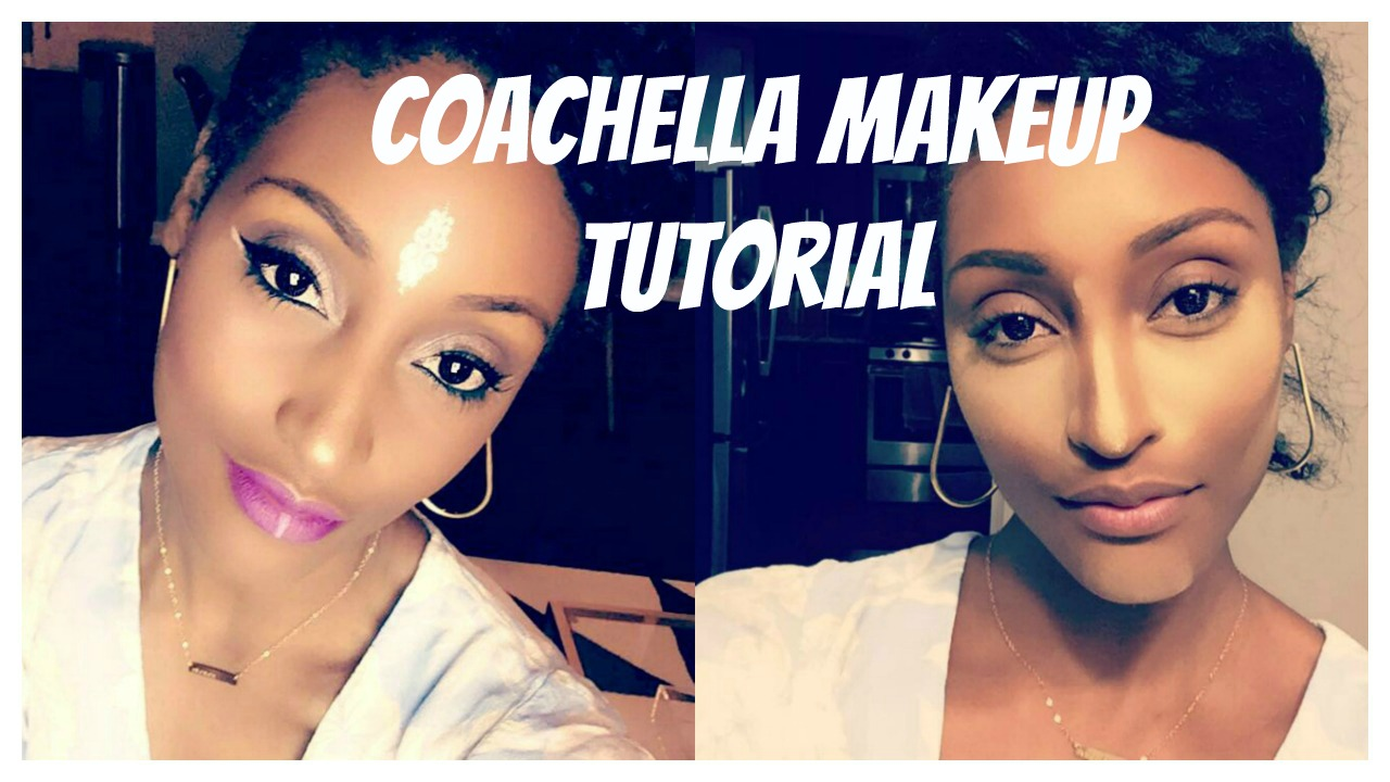 Last Minute Coachella Festival Makeup Look