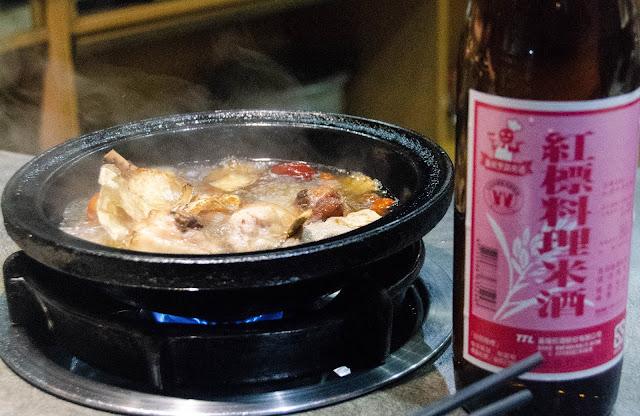 (台中市)純米酒的燒酒雞小火鍋@櫻鍋