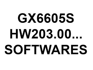 ALL GX6605S NEW SOFTWARE DOWNLOAD HW203