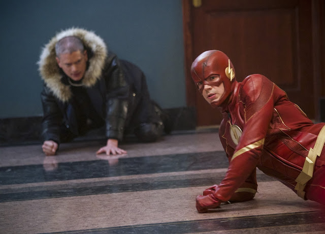 "HUMOUR   THE FLASH   Receironica 4x19 ""Fury Rogue"""