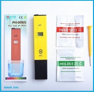 Cara Mengatur pH Air Hidroponik dan Nutrisinya.