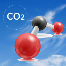 Carbon dioxide occurs naturally as approximately 0.03% v/v of the atmosphere