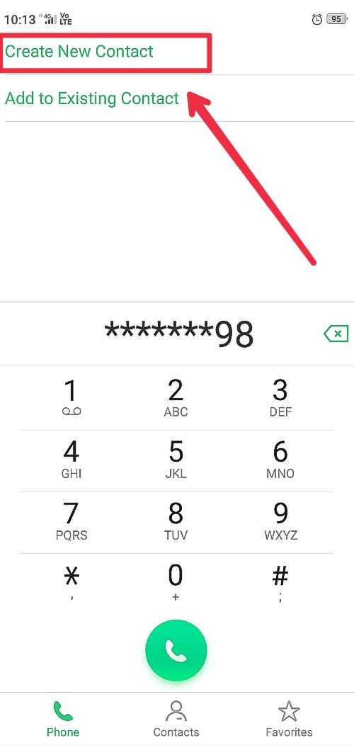 Set contact image