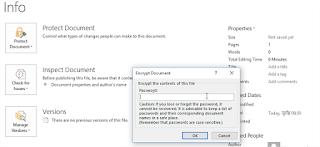 Password enter - माइक्रोसॉफ्ट ऑफ़िस से डॉक्यूमेंट पर पासवर्ड ऐसे करें सेट