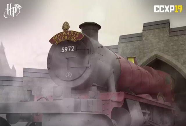 Réplica oficial do Expresso de Hogwarts estará na CCXP 2019 | Ordem da Fênix Brasileira