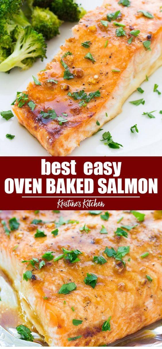 Favorite Easy Oven Baked Salmon
