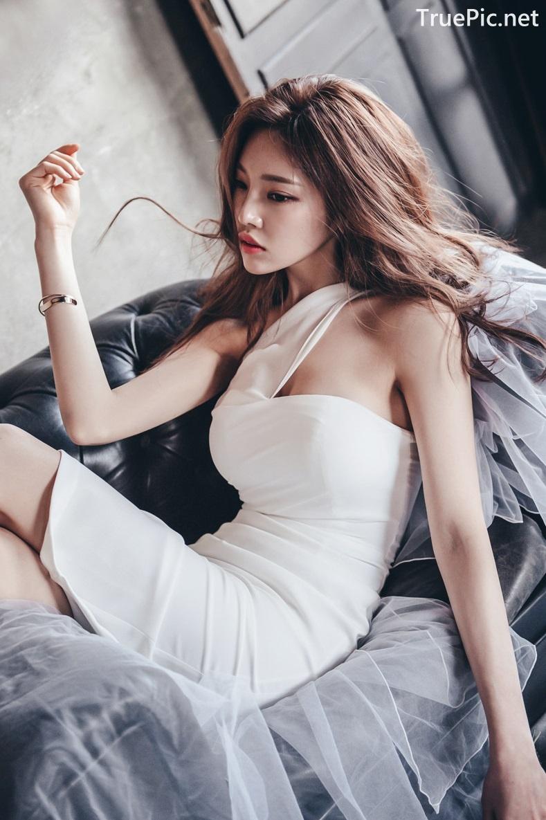 Image Korean Fashion Model - Park Jung Yoon - Wedding Dress Set - TruePic.net - Picture-3