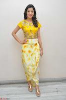 Richa Panai in Yellow Slim Fit Crop top ~ CelebxNext 030.JPG