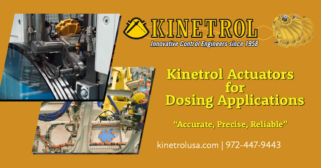 Precision Dosing with Kinetrol Actuators